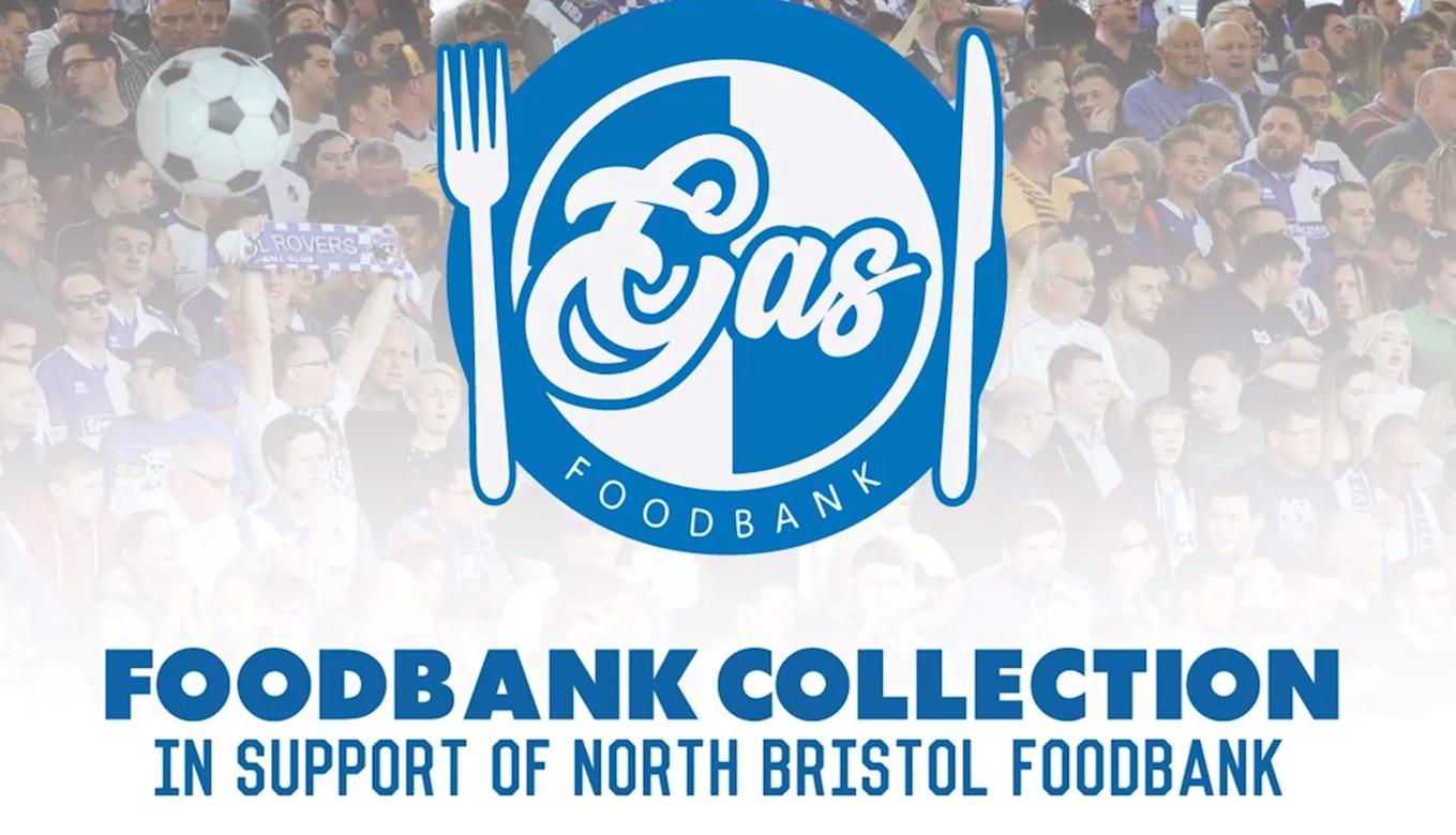 Foodbank Collection At Saturday's Game!