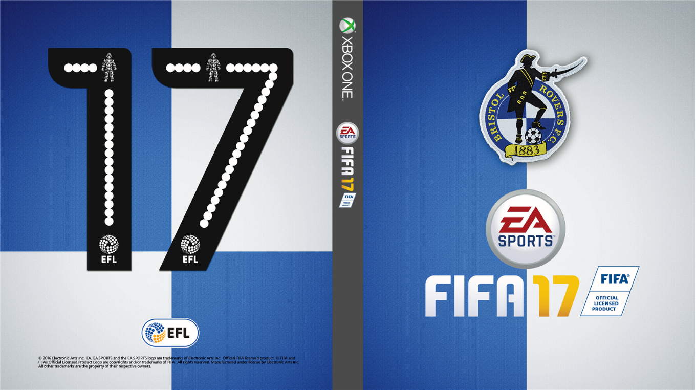DOWNLOAD YOUR BRISTOL ROVERS FIFA 17 COVER ART - News