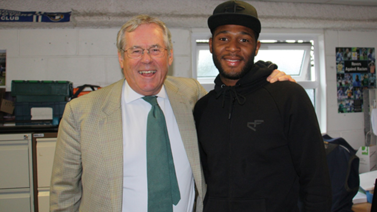 Chairman Steve Hamer with Ellis Harrison