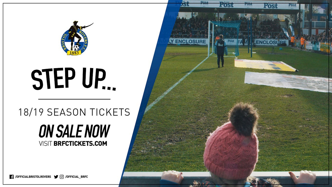 Season tickets on general sale & a new family stand