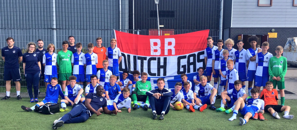 The Rovers Academy on tour in Holland